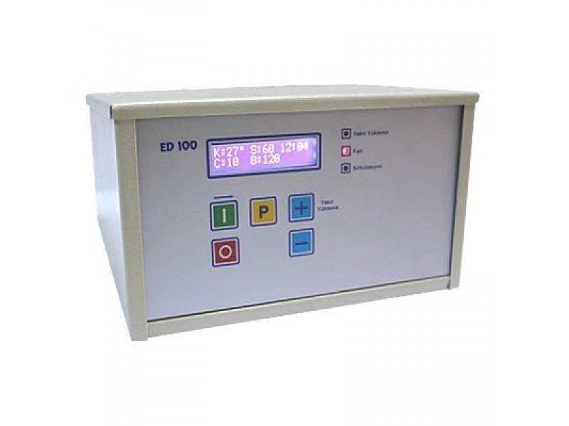 ED100 Stokerli̇ Kazan Kontrol Ci̇hazı - 3 Haneli Geniş Display Ekranlı