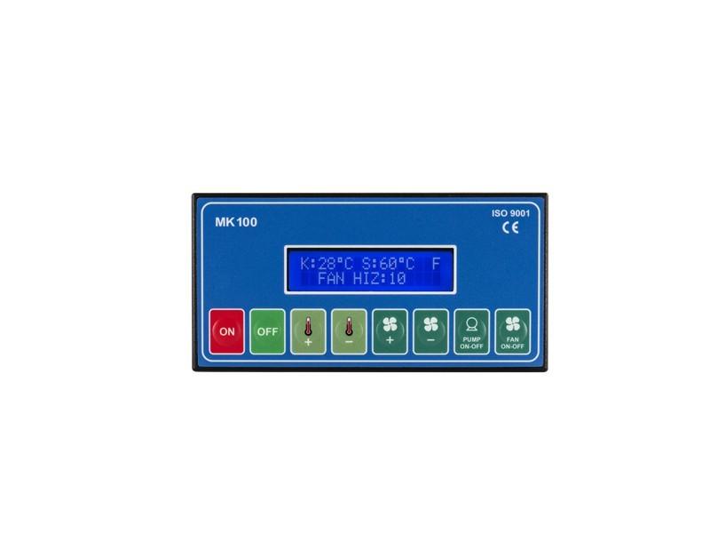 MK100 Manuel Kazan Kontrol Cihazı - 3 Haneli Geniş Display Ekranlı