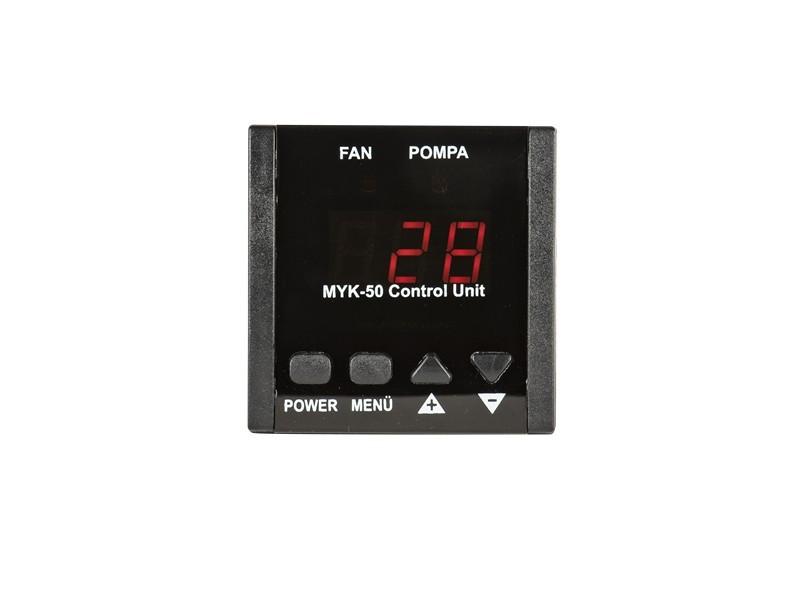 MYK50 Manuel Kazan Kontrol Ci̇hazı - 3 Haneli Geniş Display Ekranlı