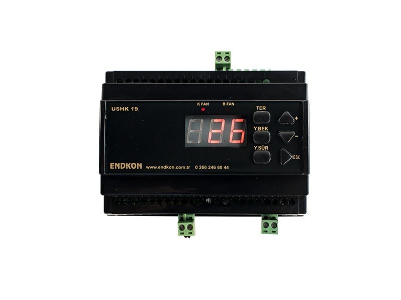 Kuru Hava Kazanı Kontrol Cihazı - Tam Otomatik Kontrol Paneli